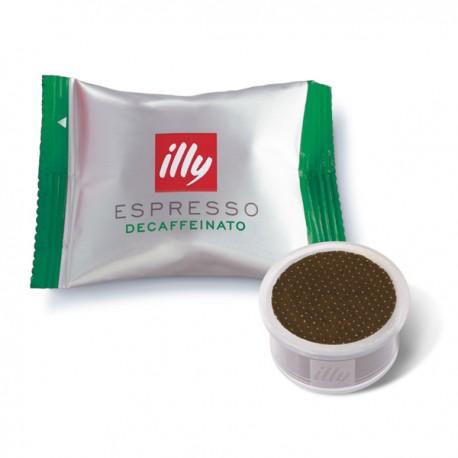 capsule café illy expresso decafeiné